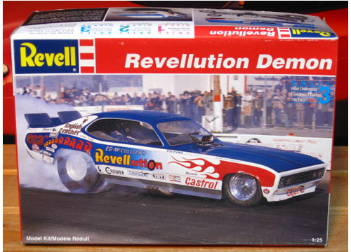 Revell Revelloution Demon Funny Car Kit Sealed