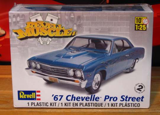 Revell 1967 Chevelle Pro Street Kit Sealed