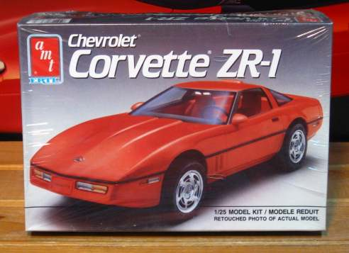 AMT 1990 Corvette ZR-1 Kit Sealed
