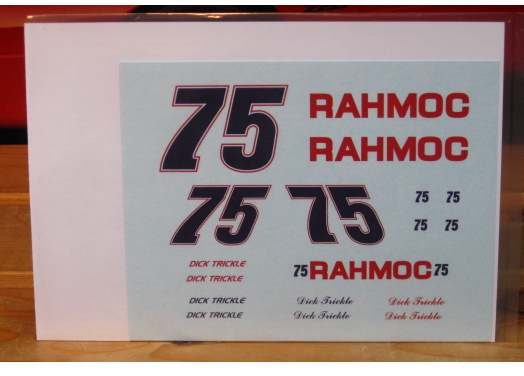 #75 Rahmoc Olds Dick Trickle 1992 Daytona 500 PPP
