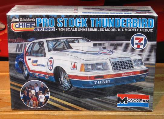 Monogram Bob Glidden Chief Auto Parts Pro Stock Sealed