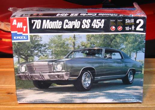 AMT '70 Monte Carlo SS 454 1998 Issue Kit