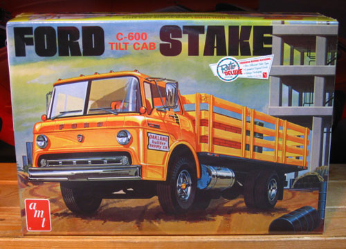 AMT Ford C-600 Stake Truck Kit Sealed