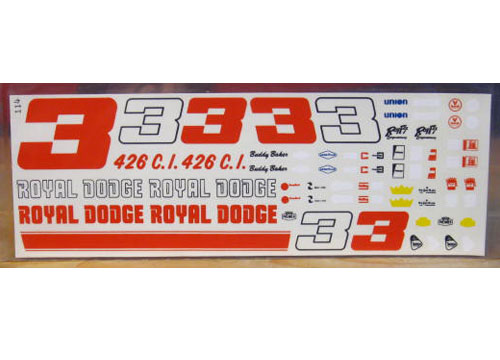 # 3 Royal Dodge Buddy Baker Fred Cady 114