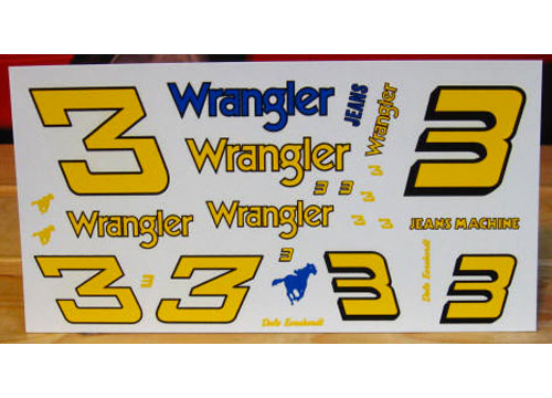# 3 Wrangler 1981-84 Conversion Numbers JNJ