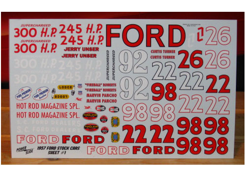 '57 Fords Sheet 1 Powerslide