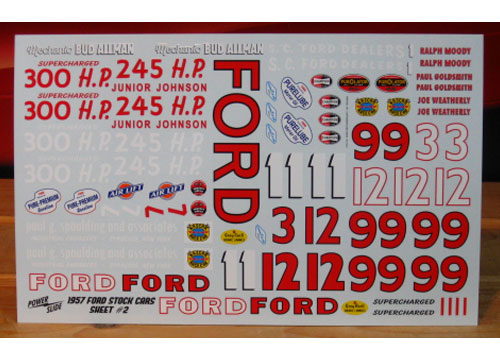 '57 Fords Sheet 2 Powerslide