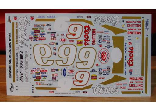 # 9 Coors Bill Elliott 1984-86 Powerslide