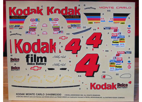# 4 Kodak Sterling Marlin 1995 Monogram