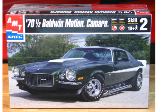 AMT 1970 Camaro Baldwin Motion Kit 2000 Issue Sealed