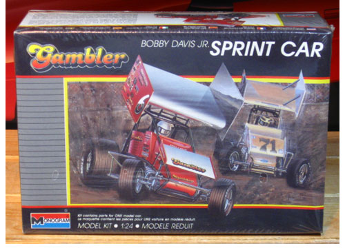 Monogram Bobby Davis Jr Gambler Sprint Car Kit Sealed