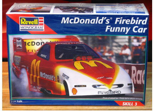 Revell Cruz Pedregon McDonalds Firebird Funny Car Kit Sealed