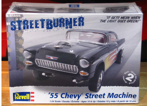 Revell '55 Chevy Street Machine 2009 Issue Sealed