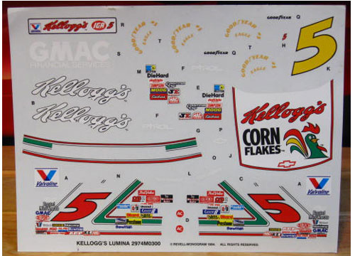 # 5 Kellogg's Terry Labonte 1994 Monogram