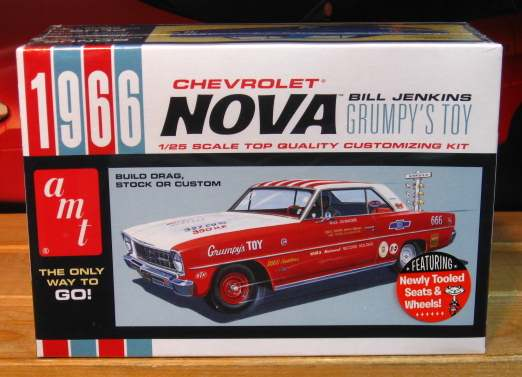 AMT Grumpy's Toy 1966 Nova Kit Sealed