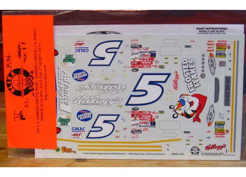 # 5 Frosted Flakes Terry Labonte 2000 Slixx