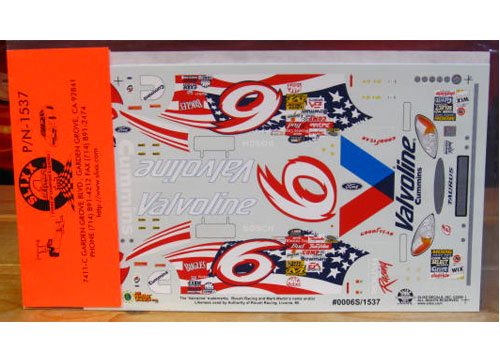 # 6 Stars-n-Stripes Mark Martin 2000 Slixx