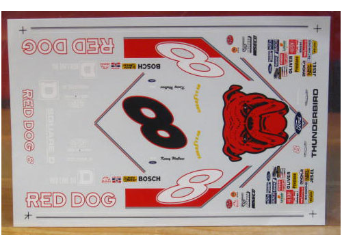 # 8 Red Dog Kenny Wallace RaceScale