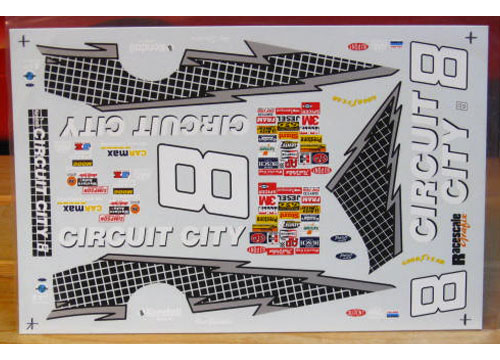 # 8 Circuit City 1996 RaceScale
