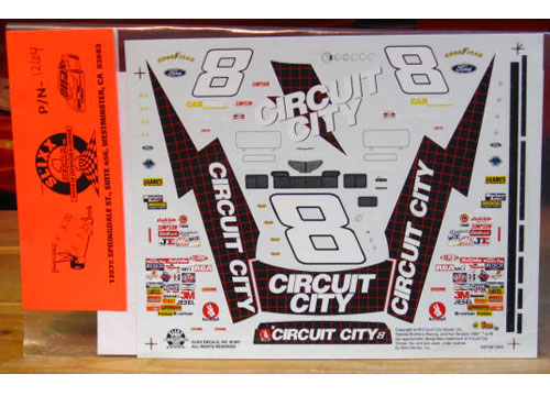 # 8 Circuit City 1997 Slixx