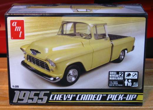 AMT 1955 Chevy Cameo Pickup Kit Sealed