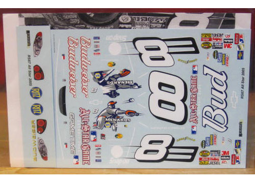 # 8 Bud MLB All Star Game Dale Earnhardt Jr 2005 RaceScale