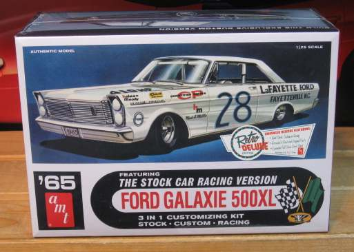 #28 Lorenzen 1965 Ford Galaxie AMT Kit Sealed