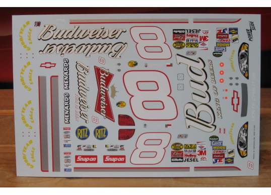 # 8 Budweiser Black Dale Earnhardt Jr 2006 Powerslide