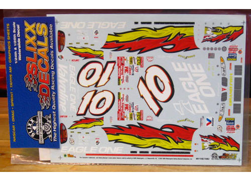 #10 Eagle One Johnny Benson 2001 Slixx