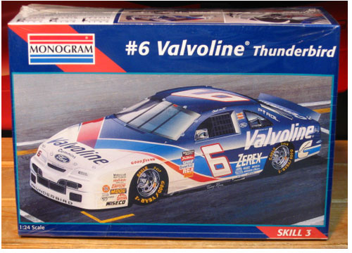 # 6 Valvoline Mark Martin 1995 Brickyard Kit Sealed
