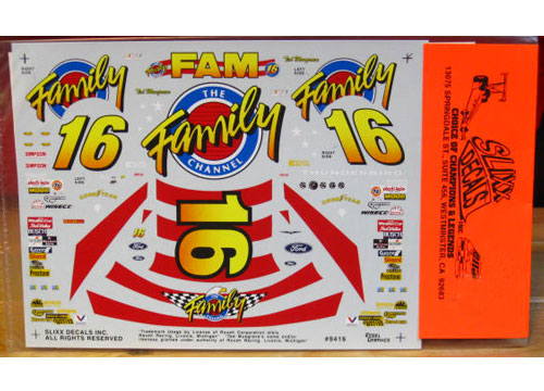 #16 Family Channel Ted Musgrave 1994 Slixx