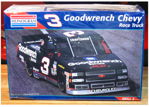 # 3 Goodwrench Chevy Truck Mike Skinner Monogram Kit Sealed