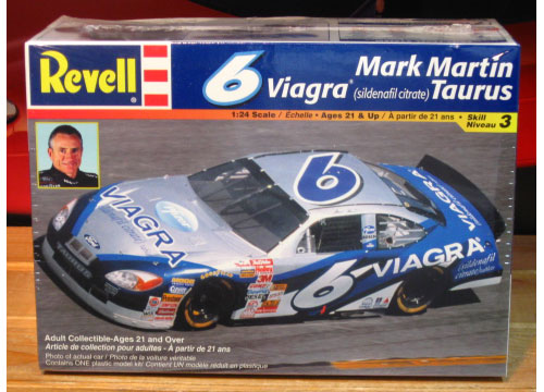 # 6 Viagra Mark Martin 2001 Taurus Kit Sealed