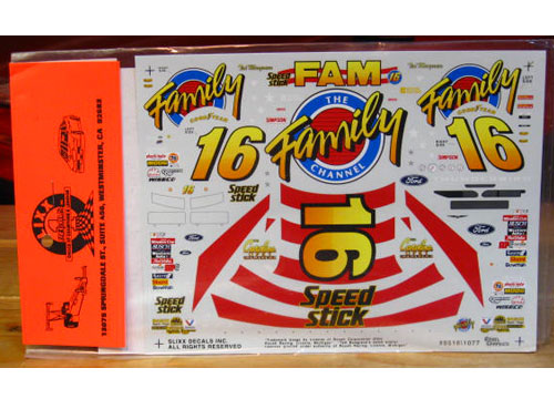 #16 Family Channel Ted Musgrave 1995 Slixx