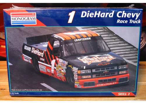 # 1 DieHard Chevy Truck Mike Chase Monogram Kit Sealed