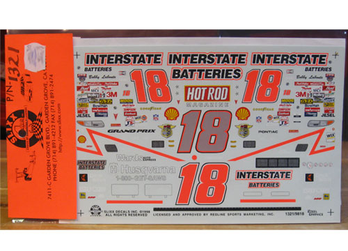 #18 Hot Rod 50th Ann Bobby Labonte 1998 Slixx