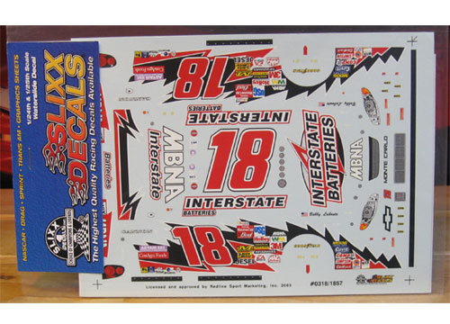 #18 Interstate Bobby Labonte 2003 Slixx