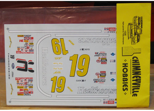 #19 Healthsource Dick Trickle 1996