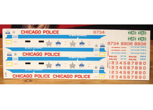 Fred Cady #338 Chicago Police Graphics