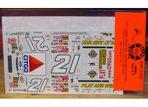 #21 Play and Win Elliott Sadler 1999 Slixx