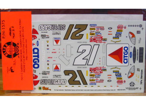 #21 Citgo 70s Colors Elliott Sadler 2000 Slixx