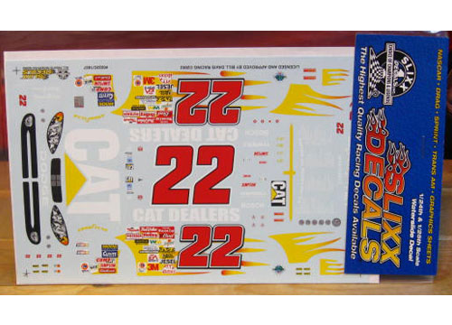 #22 Cat Dealers Ward Burton 2002 Slixx