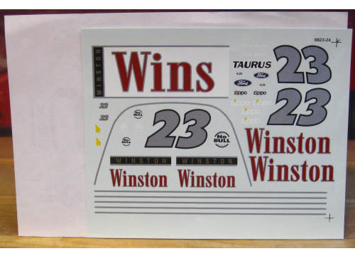 #23 Winston Jimmy Spencer 1998