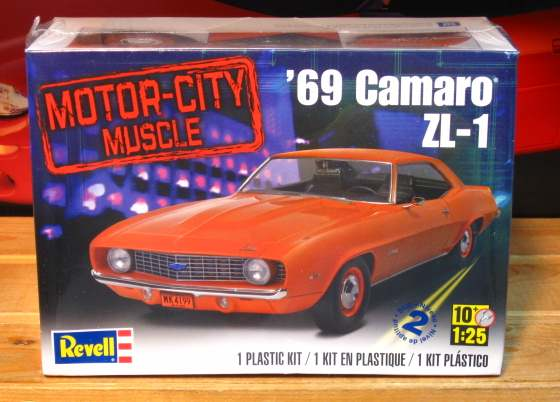 Revell 1969 Camaro ZL-1 Kit Sealed
