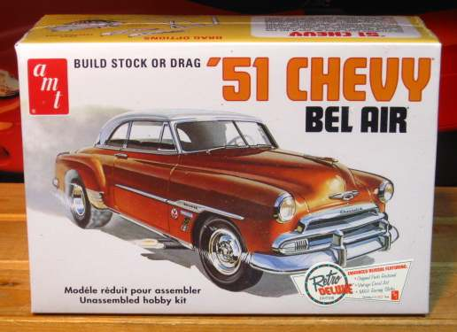 AMT 1951 Chevy Bel Air Hardtop Kit Sealed