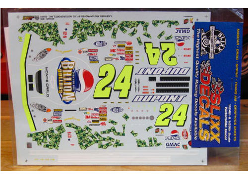 #24 Pepsi Billion Jeff Gordon 2003 Slixx