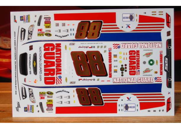 #88 National Guard Dale Earnhardt Jr 2014 Powerslide