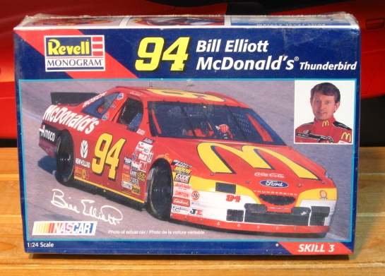 #94 McDonalds Bill Elliott 1997 Monogram Kit Sealed