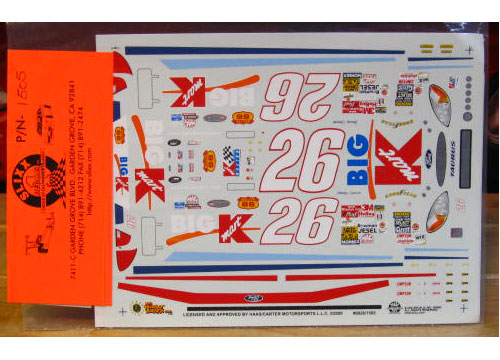 #26 K-Mart Jimmy Spencer 2000 Slixx