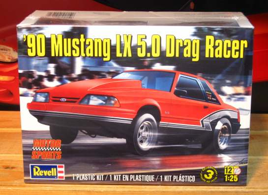 Revell 1990 Mustang LX 5.0 Drag Racer Kit Sealed